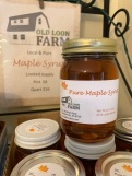 maple syrup jar